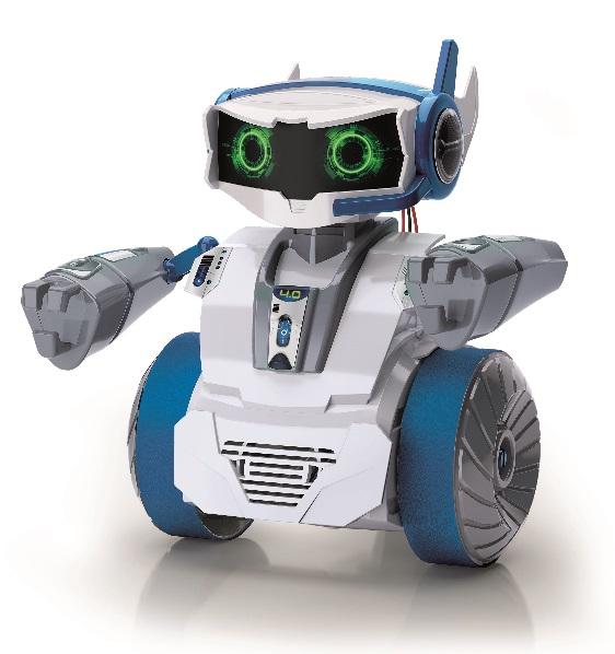 Grava mensagens de voz, muda-as aplicando vários efeitos e filtros de som diferentes e depois transmite-os para o robô. Poderás fazer o robô reproduzi-los sempre que quiseres! O microfone do robô é também perfeito para brincar e permite-te falar com os teus amigos através dele com a ajuda da APP!